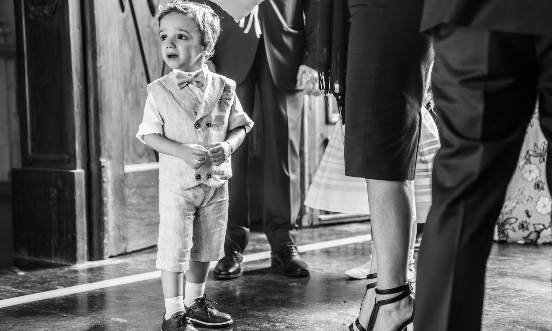 l'arrivo della sposa e l'attesa dei piccoli.
