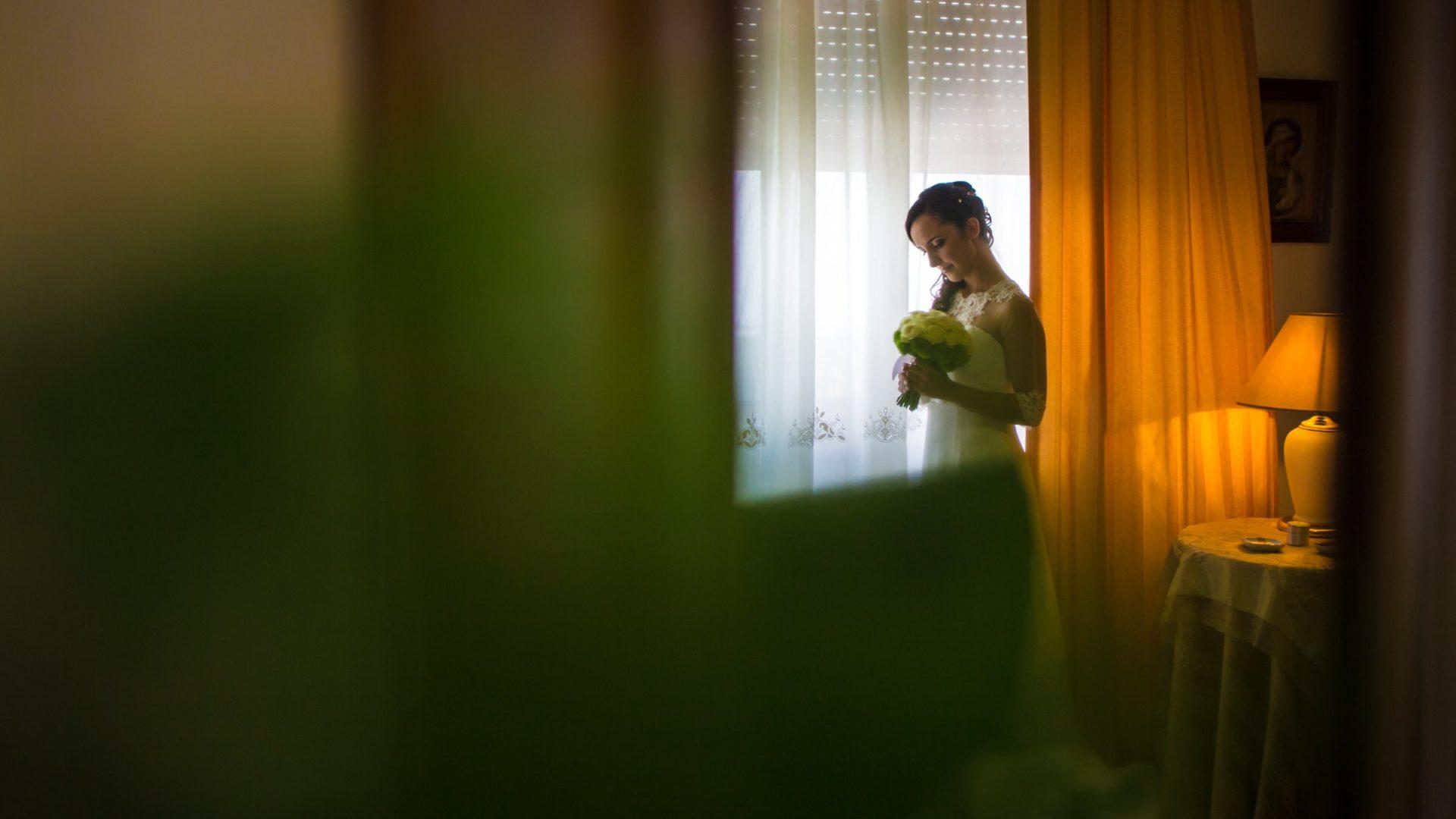 Sposa nella stanza